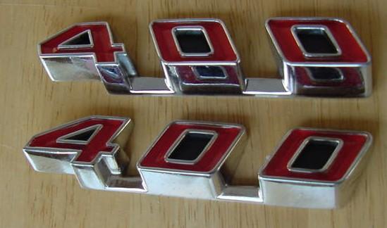 GTO / LeMans Rocker emblems 68 69 70 71 72 400 NEW