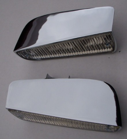 63-65 PLYMOUTH B Body Back Up Lights PAIR NEW