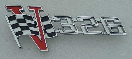 63 Tempest 326 grille and deck emblem NEW