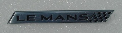 NEW 64 65 66 LeMans Door Panel emblem