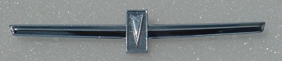 NEW 64 GTO 65 Tempest Door Panel emblem