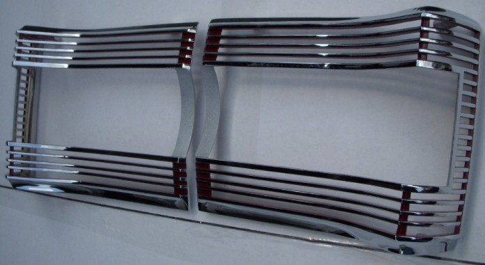 67 GTX Tal Light Bezels NEW PAIR