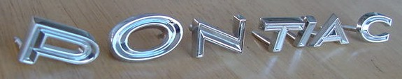 67 Lemans header letter set NEW