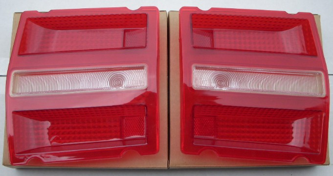 68 Dart Taillight Lenses PAIR NEW GT GTS