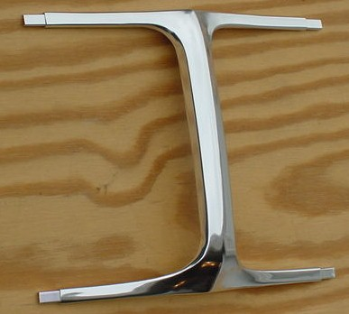 69 Charger I BEAM Grille Molding NEW grill 1969
