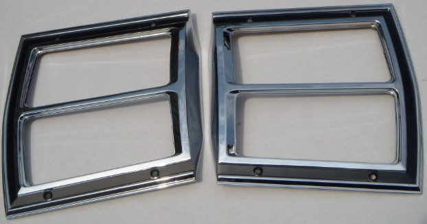 69 Dart Taillight Bezels PAIR NEW GT GTS