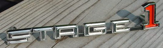 69 GS Stage 1 Hood Emblem Skylark