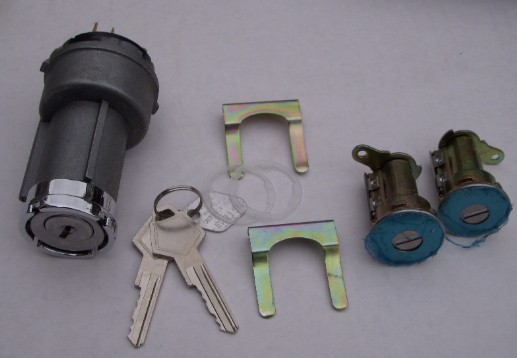 1969 ALL Ignition and Door Lock Set NEW