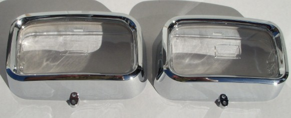 72 73 74 Cuda Barracuda Park Lens and Bezels NEW