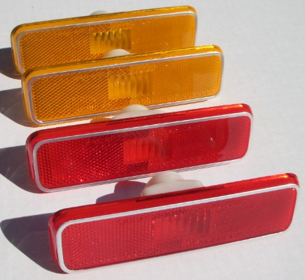 Side Marker Lights 72 up Charger Dart Coronet Road Runner Fury Challenger Barracuda Cuda