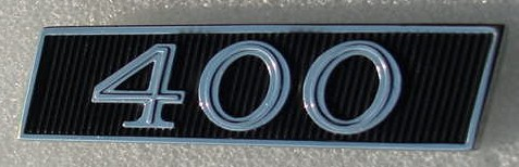 Buick 400 Tail panel emblem 67 Skylark NEW