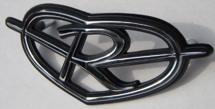 73 Buick Riviera Header Panel Emblem NEW