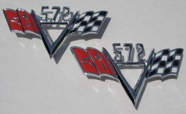 572 FLAG emblems