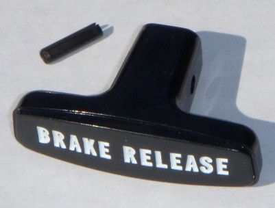 68-74 B and E Body Emergency Park Brake Handle