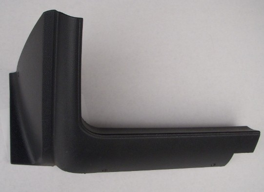 70-74 Challenger Cuda Left Lower Dash Trim Molding NEW