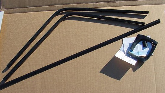 NEW Rear window trim 68 69 70 Charger