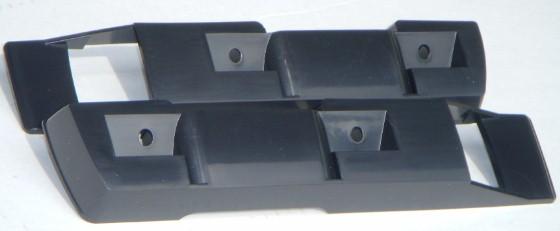 Mopar Armrest Pads Black Pair 68-72 A-Body Demon Dart Valiant Scamp Duster NEW
